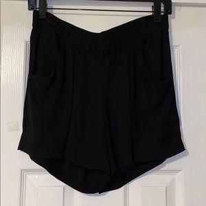 Black BCBG shorts